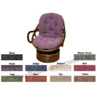 Buy cheap Swivel Rocker Papasan Chenille Fabric Replacement Cushions from wholesalers