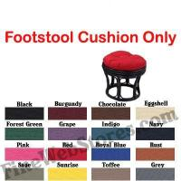 China Footstool Solid Color Replacement Cushion Only wholesale