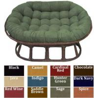 China Love Seat Papasan Micro Suede Replacement Cushion wholesale