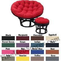 Buy cheap Papasan Solid Color Replacement Cushions from wholesalers