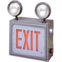 China Class 1 & 2 Division 2 LED Combo Direct View Exit Sign with Emergency Lights wholesale
