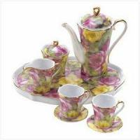 China SWM 12539 Rose Garden Mini Tea Set wholesale
