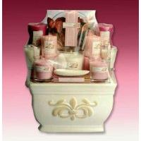 China Gift Basket Drop Shipping MA7054-1 Love of Roses Deluxe Candle Assortment wholesale