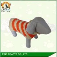 China factory wholesale hand crochet dog sweater on sale