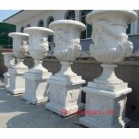 China big marble planter wholesale