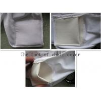 China Folding chair cover Classy patio chair cover, removable folding chair cover, spandex chair cover on sale