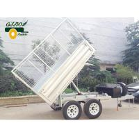 China Hydraulic Tipping Trailers-Drop Down Sides- GN-HTD85 wholesale