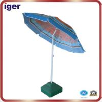 China promotional printing beach umbrella wholesale
