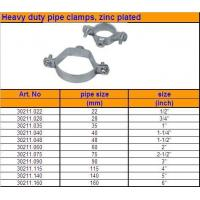China Hose Clip Heavy Duty Pipe Clamps zinc plated wholesale