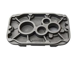 Quality ductile iron casting with CNC for sale