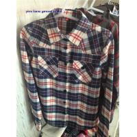 China Lady flannel shirts checked/plaids flannel shirts for woman wholesale