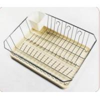 Popular latest chrome plated double dish drainer
