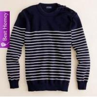 Buy cheap Mens cashmere sweaters ( round neck striped) SWT-M10103 from wholesalers
