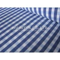 China Popular fabric Plain Weave Cotton Yarn Dyed Fabric With Competitive Price for shirt wholesale