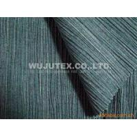China Good Crepe Cotton Yarn Dyed Fabric Clothing Material for Apparel Making For Ladies Fashion wholesale