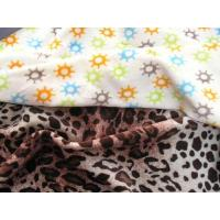 Buy cheap 80/20 CVC VELOUR PRINTED from wholesalers