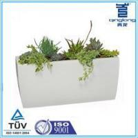 Buy cheap Ladder White rectangle Modern Garden 19 inch French Planter from wholesalers