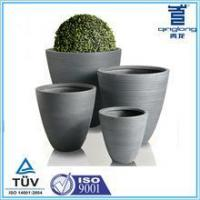 Buy cheap Round glass fiber reinforced garden pot wholesales from wholesalers