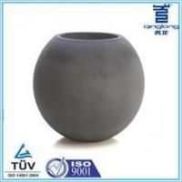 Buy cheap Round Biodegradable Mineral compounds larger ball shaped planters from wholesalers