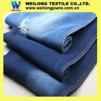 China B3017 china factory wholesale 100 cotton denim jeans fabric less than 2 dollars wholesale