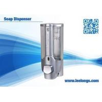 China Chromed Plated Manual sink Soap Dispenser Hand Push for kitchen wholesale