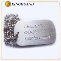 China label plate and marking logo metal dog tag engraver wholesale
