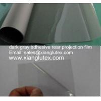 China self adhesive 3D rear projection screen film on sale