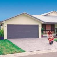China Insulated Finger Protect Sectional And Panel Garage Door With Door Open System wholesale