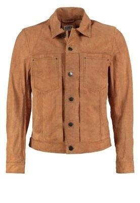 Quality Leather Jacket Men's Leather Jackets With Button Closed for sale