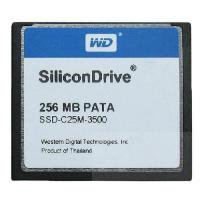 China SiliconDrive WD PATA 256MB COMPACT FLASH CF CARD 256mb SSD-C25M-3500 wholesale