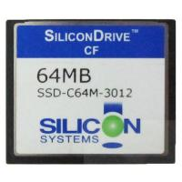 SiliconDrive System 64MB Compact Flash Card CF Memory Card 64mb