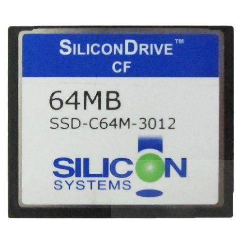 Quality SiliconDrive System 64MB Compact Flash Card CF Memory Card 64mb for sale