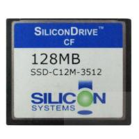 China SiliconDrive System 128MB Compact Flash Card CF Memory Card 128mb wholesale