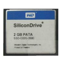 China SiliconDrive 2GB PATA WD Compact Flash Card CF Industrial Wide Temp wholesale
