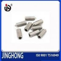 China Hot Sale DIN 914 Hexagon Socket Head Set Screw With Cone Point wholesale