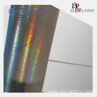 China 35 micron Gold Holographic Metallic Yarn For Clothing wholesale