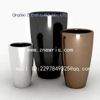 China Hot sales indoor or outdoor fiberglass planter wholesale