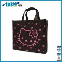 China ECO Supermarket Bag With Flower Print wholesale