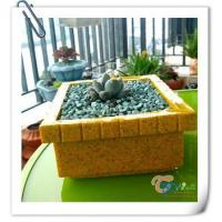 China Indoor decorative small rectangular succulent pots flower planter wholesale