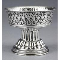 China English Provincial Tudor Cup (Holms Cup) Antique Silver Replica on sale