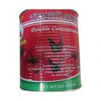 China canned tomato paste double concentrated tomato paste wholesale