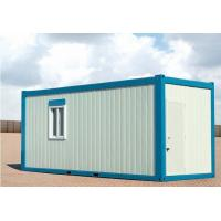 China Movable Prefab/Modular/Mobile Container House for Temporary Living on sale
