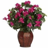 China Bougainvillea with Vase Silk Plant wholesale