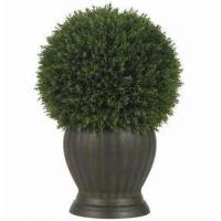 China Cedar Ball Topiary Silk Plant wholesale
