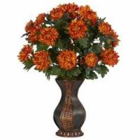 China Spider Mum with Urn Silk Plant wholesale