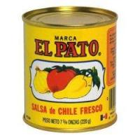 China Gourmet Food Home El Pato Mexican Hot Style Tomato Sauce Salsa de Chile Fresco - 7.75 oz wholesale