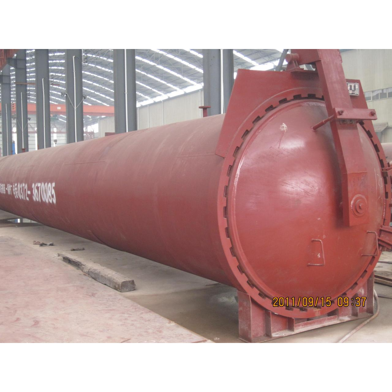 Industrial steam autoclave for Light weight block machine