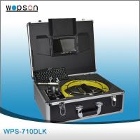 China Drainage and Plumbing Pipe Inspection Camera System With FM 512HZ Locator wholesale