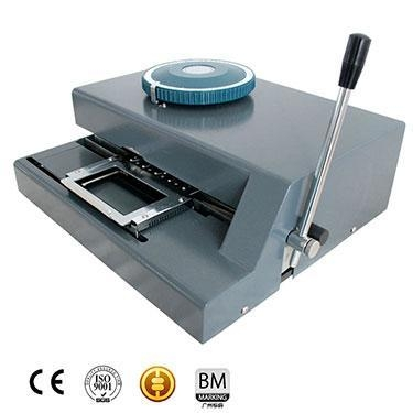 Quality Manual Rolled Steel Embossing Machine for sale