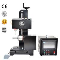 China 7.5 Inch Monitor CNC Rotary Dot Peen Marking Machine BM-09TCY wholesale